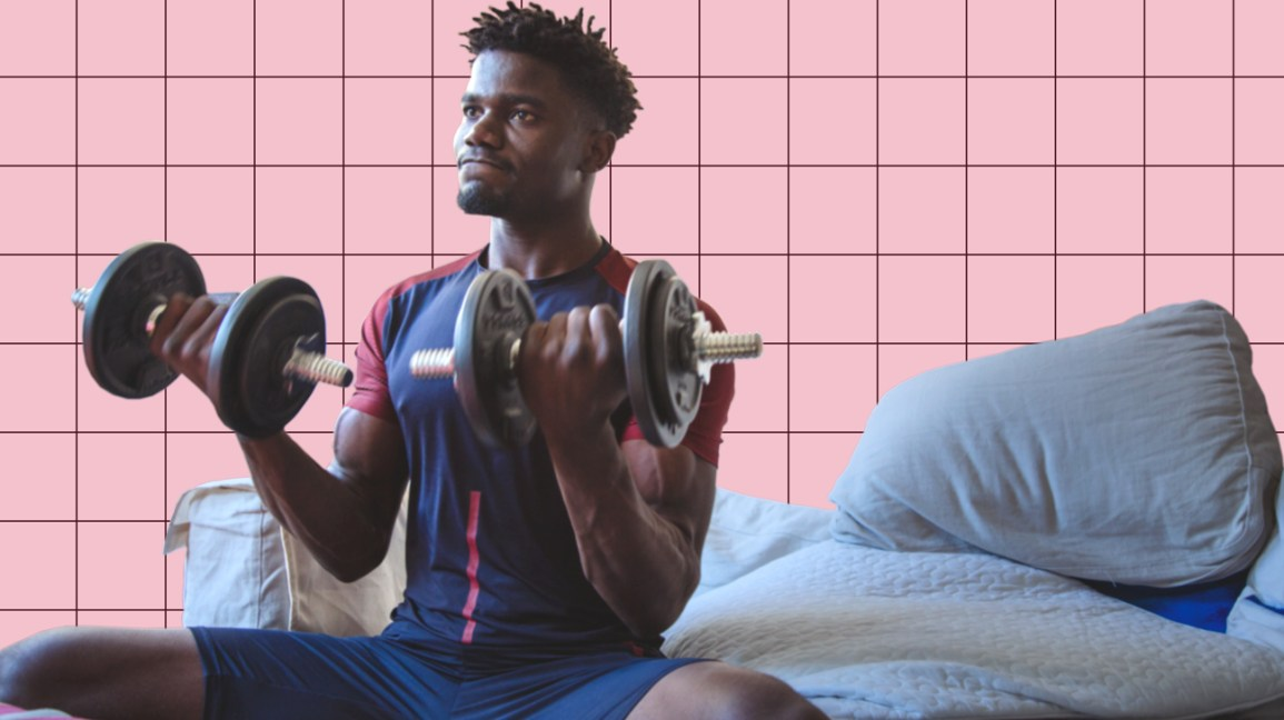 10 easy bodybuilding exercises for beginners with home gym equipment - sjonefitequippments.com