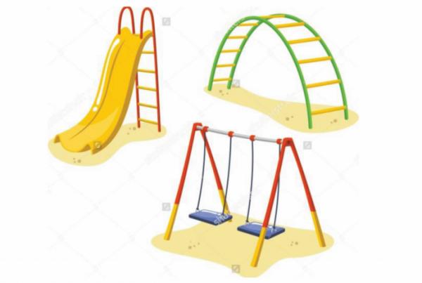 Park Playground Equipment Set Children - Shinefitequipments